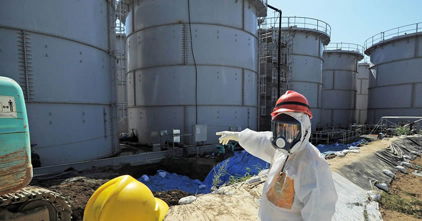 pared de hielo para contener derrames en fukushima