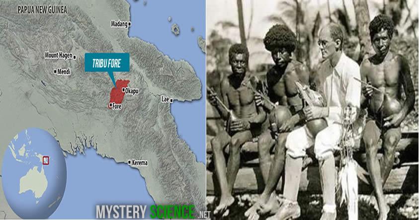 canibales en Papua