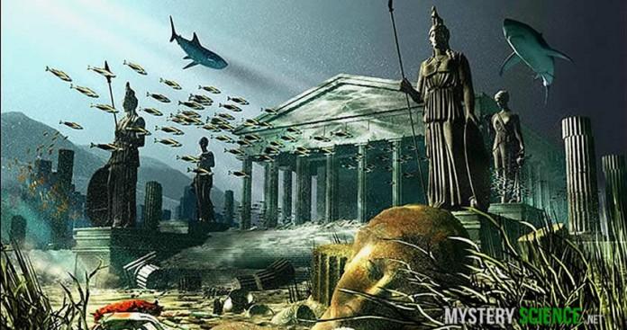Desaparición de la Atlantida