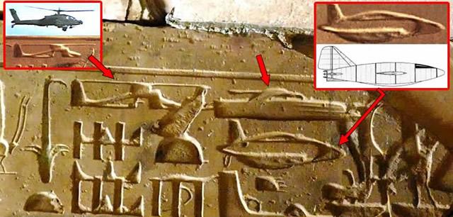 naves en egipto