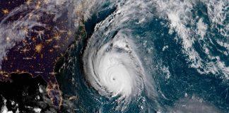 Contaminación dejada por el huracán Florence puede verse desde el espacio