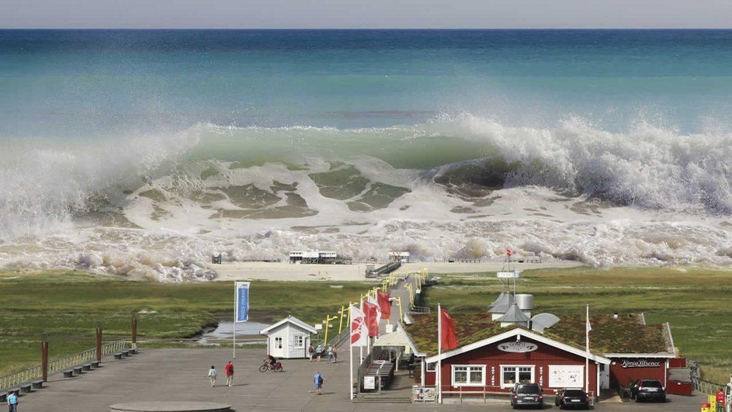 Enormes tsunamis pueden surgir debido al cambio climático