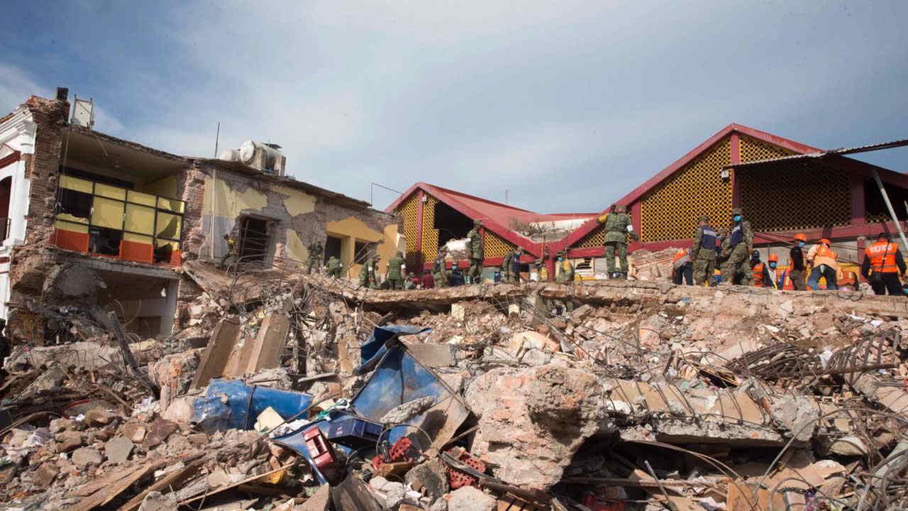 Terremoto de México de 2017 dividió una placa tectónica en dos
