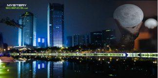 Ciudad de China planea lanzar una «luna artificial» en 2020