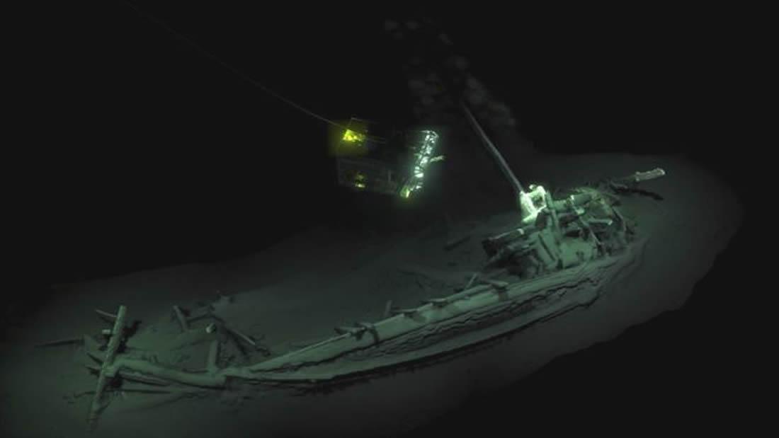 Descubren el navío intacto más antiguo del mundo