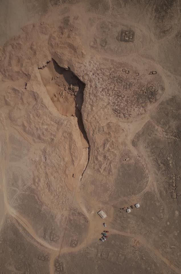 Antigua cantera de alabastro de Hatnub.