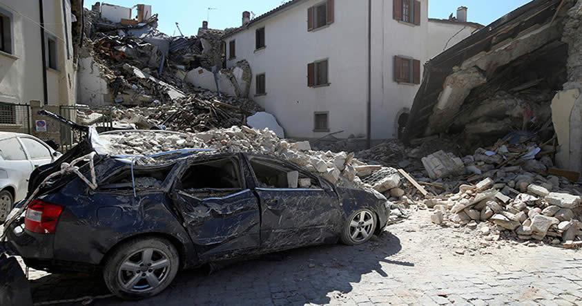 terremoto en Italia agosto
