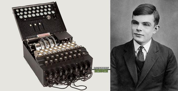 Máquina Enigma y Alan Turing