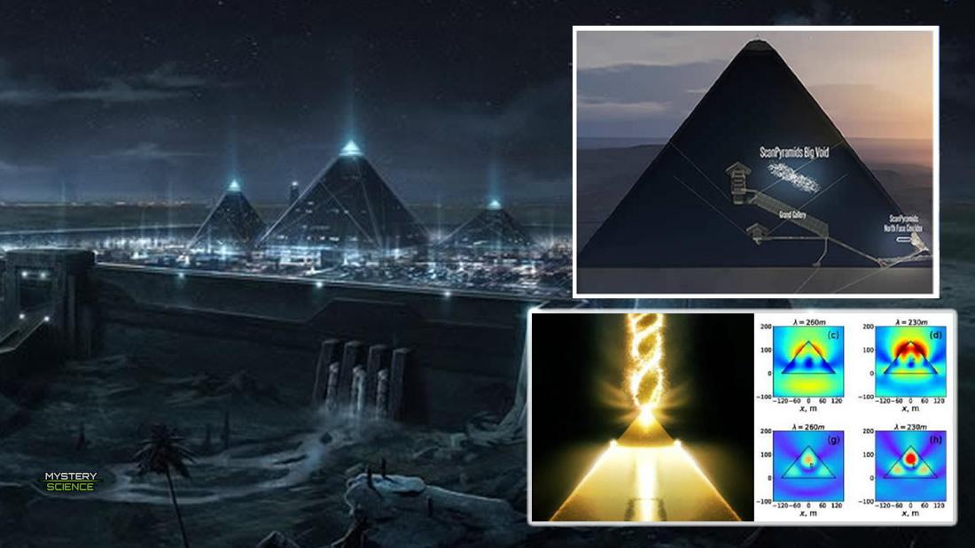 Pirámide de Guiza concentra energía electromagnética a través de sus cámaras