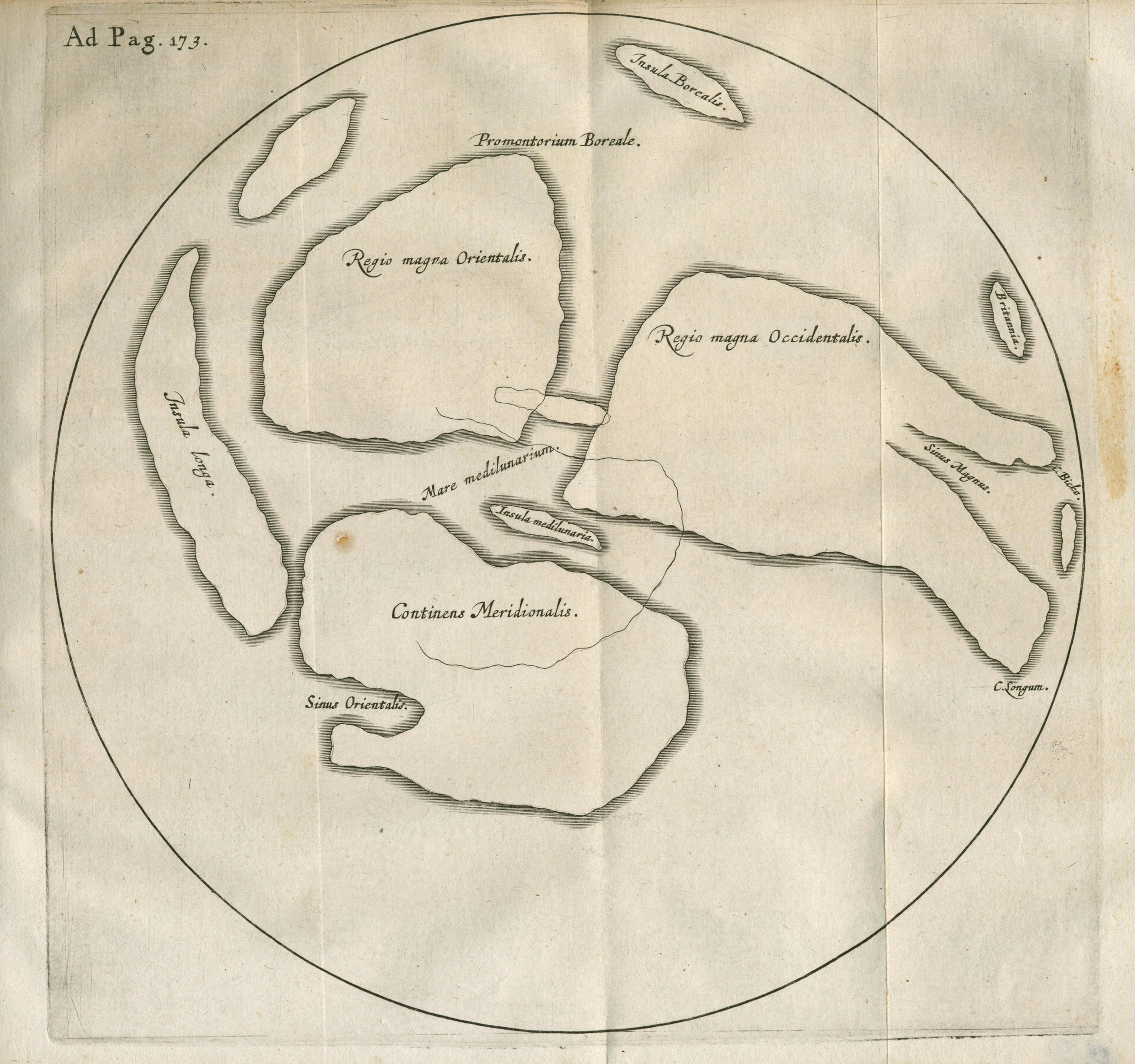 El mapa lunar más antiguo conocido