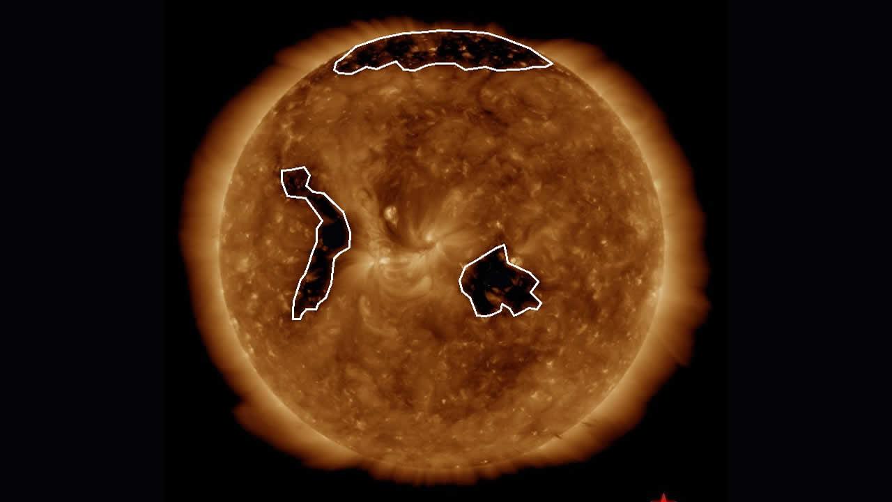 Agujero coronal orientado hacia la Tierra provocará tormentas solares