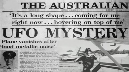 La inexplicable desaparición del piloto Fred Valentich