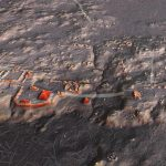 Representación del asentamiento arqueológico de Naachtun Petén. Créditos: PACUNAM/L. AULD-THOMAS y M.A. CANUTO.