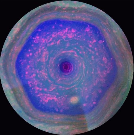 Saturno podría tener un segundo hexágono