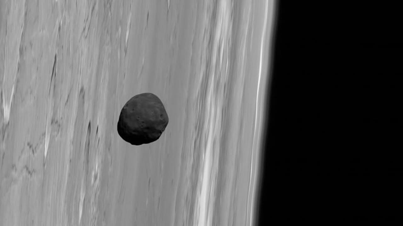 El curioso caso de las lunas de Marte