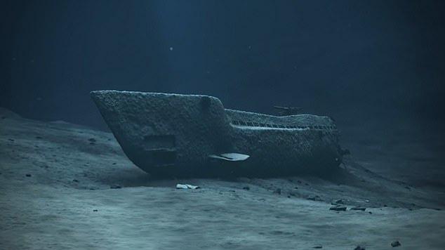 El submarino descrito como el Chernobyl submarino