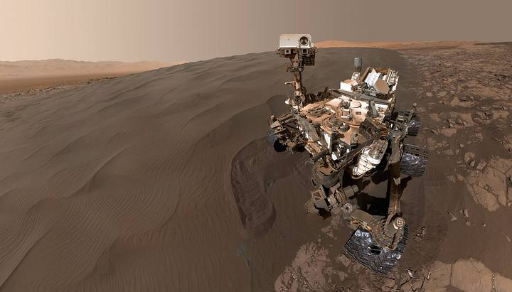 El rover Curiosity ha captado los datos sobre el clima y la composición del suelo de Marte que se han empleado en esta investigación