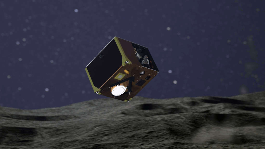 Rover aterriza con éxito por tercera vez en el asteroide Ryugu