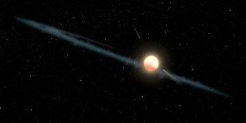 Hallan una extraña estrella parpadeante en la galaxia