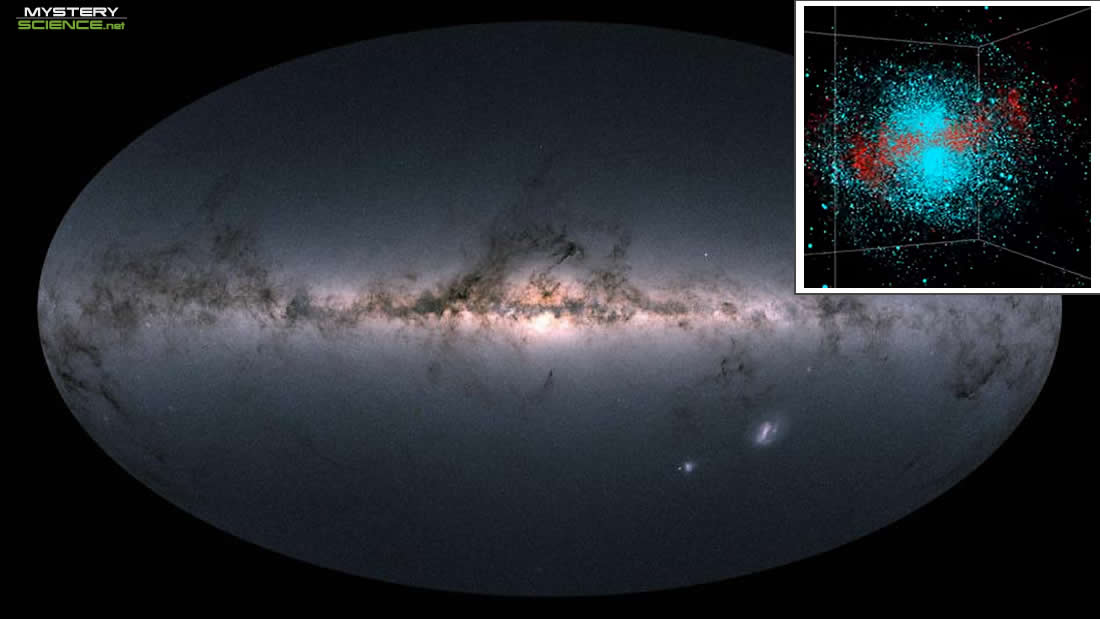 Vía Láctea colisionó con otra galaxia hace 10.000 millones de años