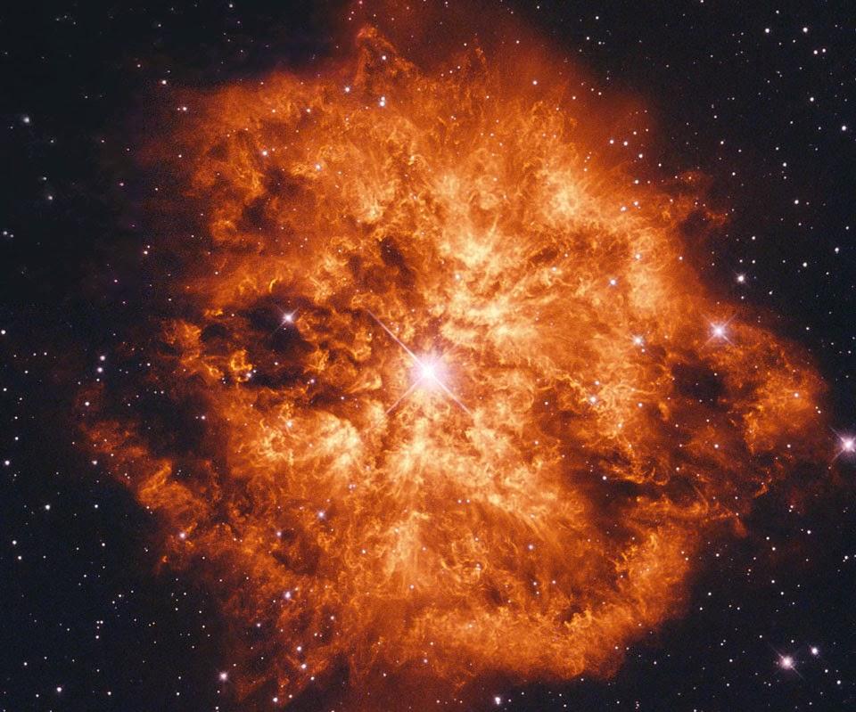 Estrella Wolf-Rayet WR 124