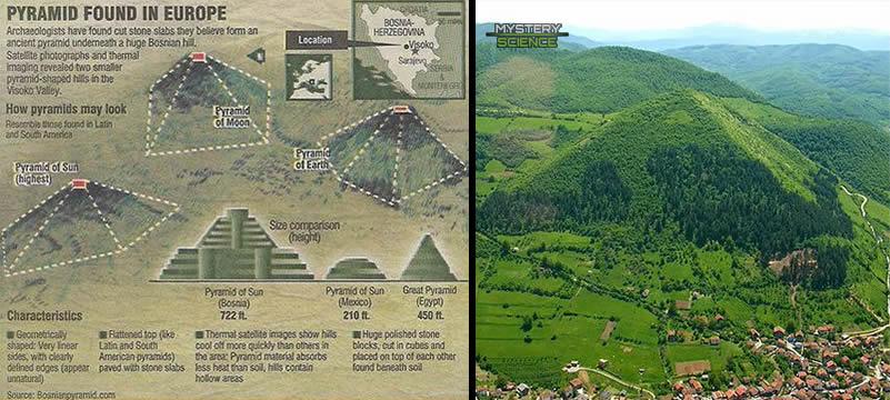 pirámides de Bosnia