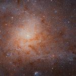 Asombrosa imagen de la Galaxia Triangulum tomada por el Hubble