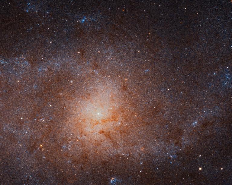 Imagen completa tomada por el Telescopio Espacial Hubble