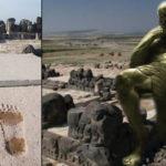 Huellas gigantes en templo de 3.000 años… ¿huellas de los Anunnaki? ¿Nefilim?