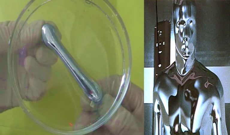 Desarrollan un metal líquido que cambia de forma y se usará en robots