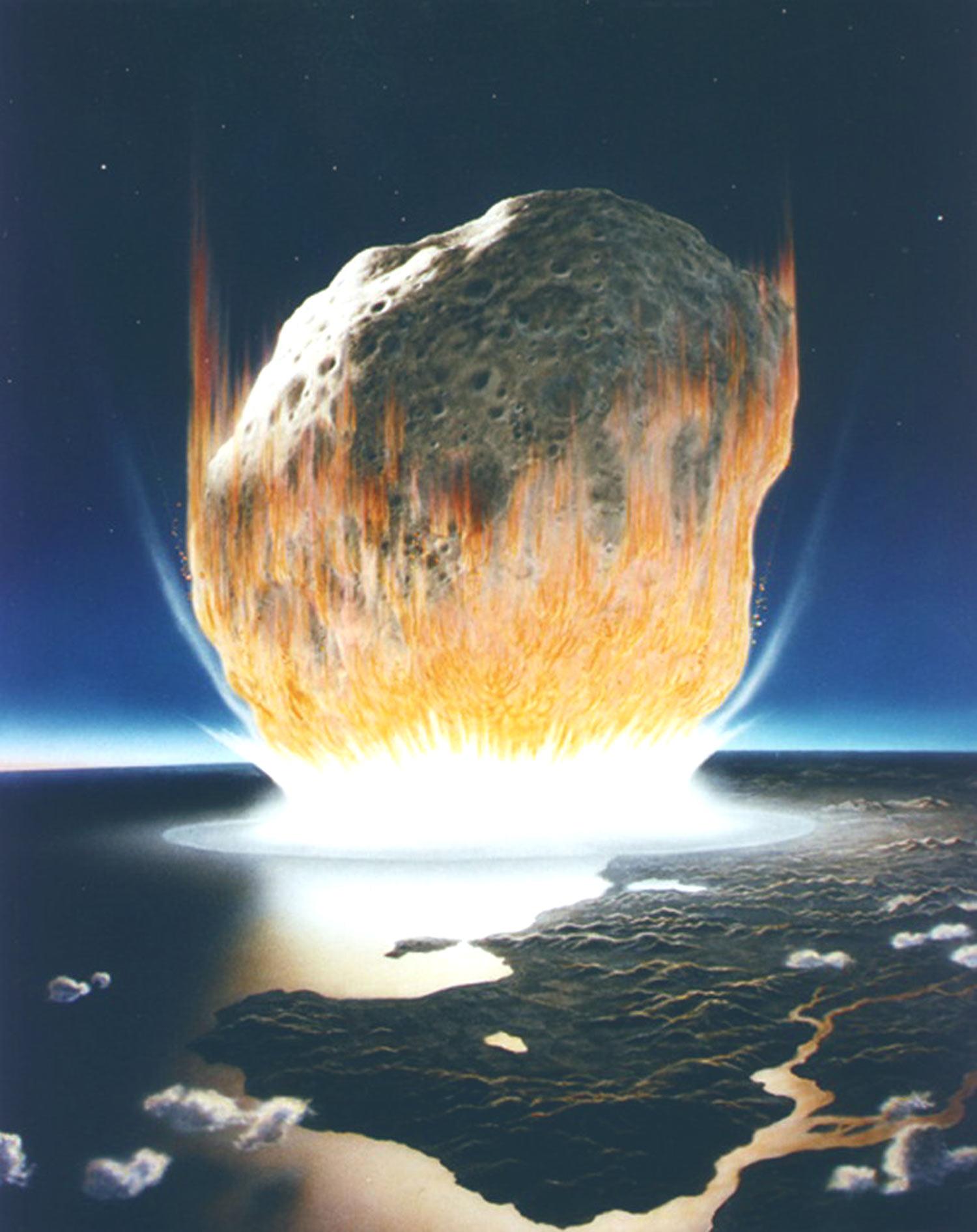 Encuentran el sitio en que impactó un enorme meteorito hace 1.200 millones de años
