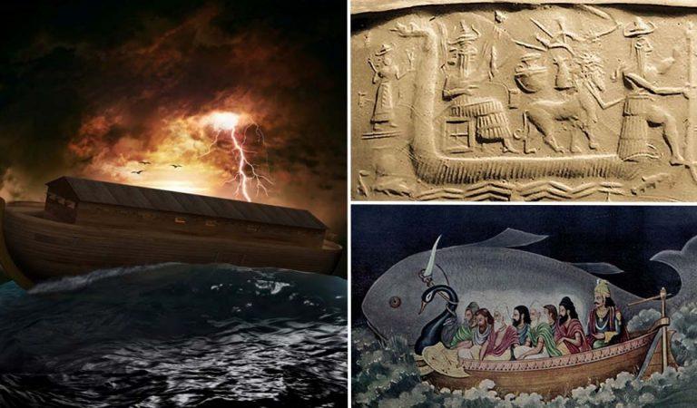 5 relatos del Diluvio universal en diversas culturas, muy similares a la historia de Noé