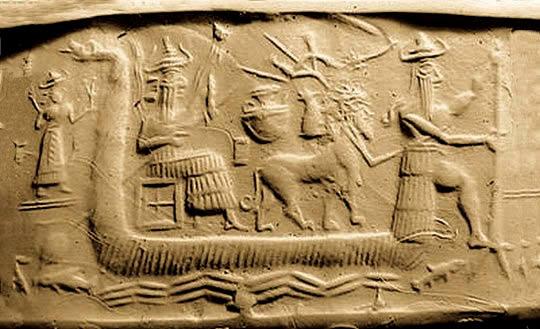 Ziusudra de Sumeria: un rey inmortal que preservó la