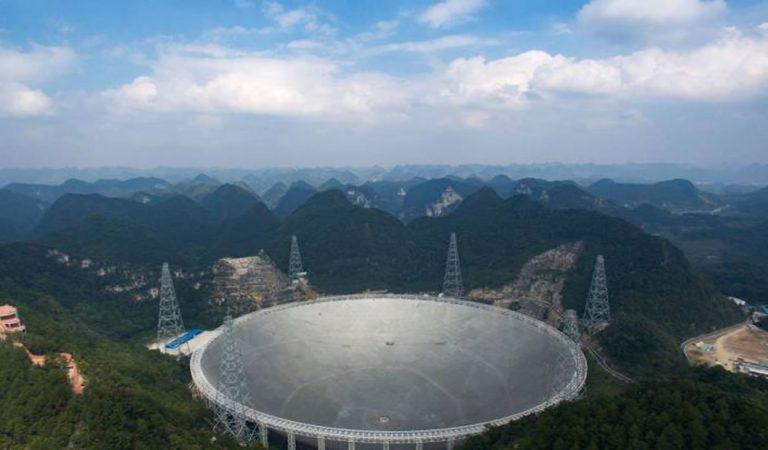 China buscará planetas habitables usando su gigantesco radiotelescopio