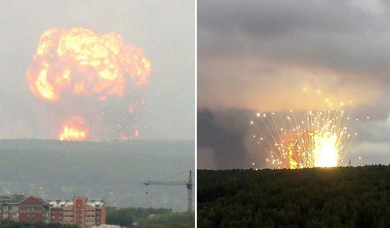 2 explosiones, una de ellas, nuclear, ocurrieron en Rusia en la última semana