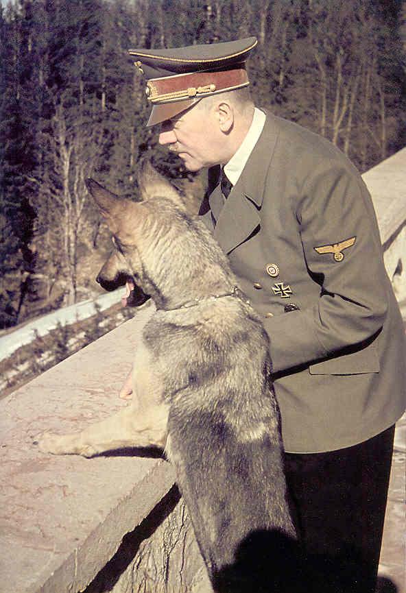 Hitler y Blondi