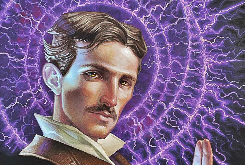 Nikola Tesla fuerza de la humanidad