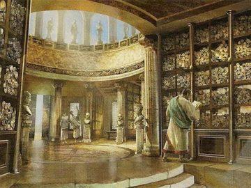 El misterio de la Biblioteca de Alejandría
