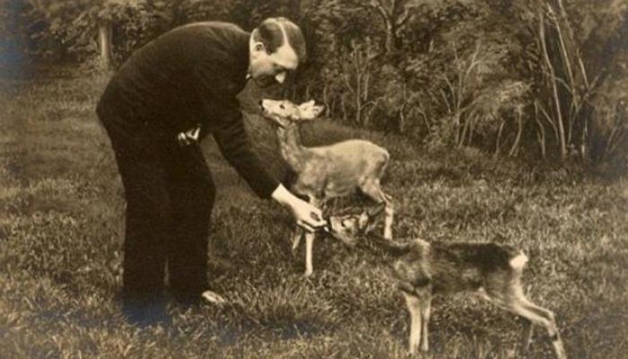Hitler y su amor por la naturaleza.