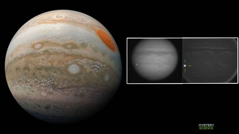 Descubren qué chocó y explotó contra Júpiter el mes pasado