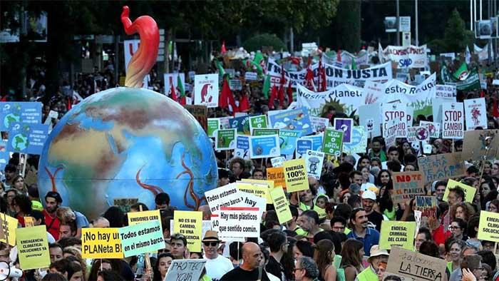 Protesta contra el Cambio climático