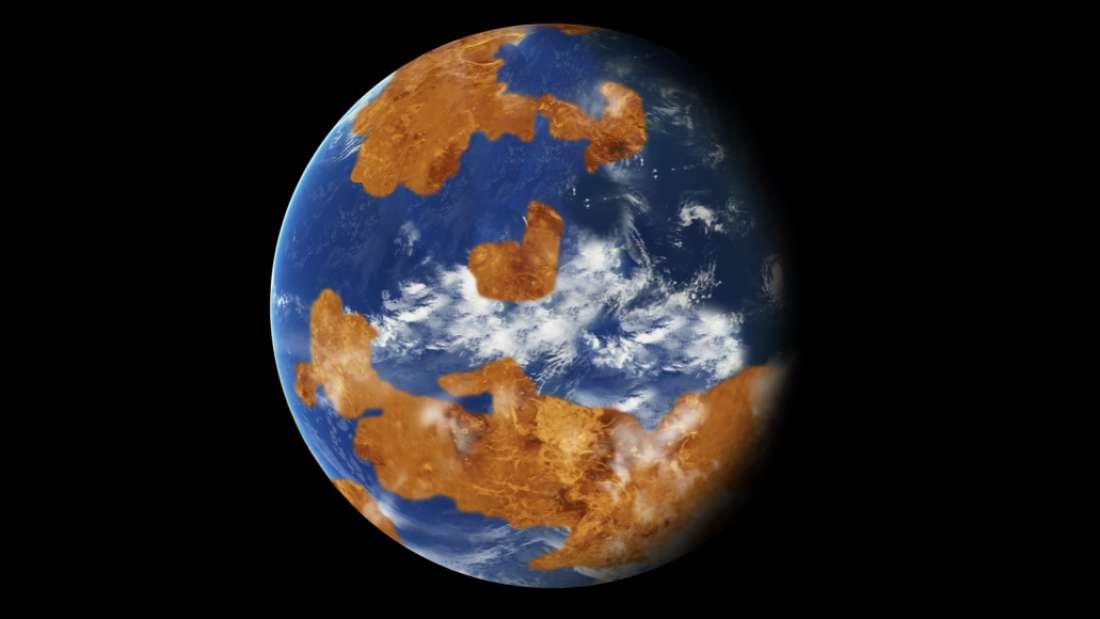 Venus pudo tener océanos de agua