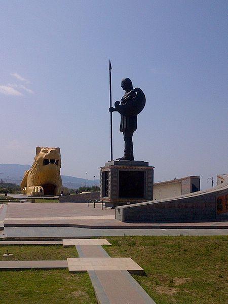 Monumento a las Amazonas en Turquía.