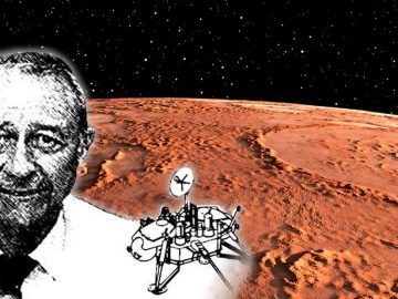 Ex científico de la NASA dice que se encontró vida en Marte hace décadas