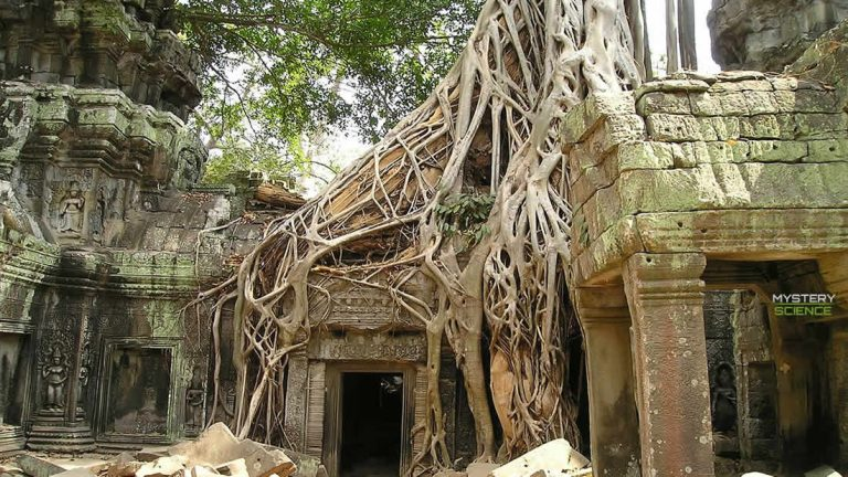 Descubren una antigua ciudad perdida en la selva de Camboya