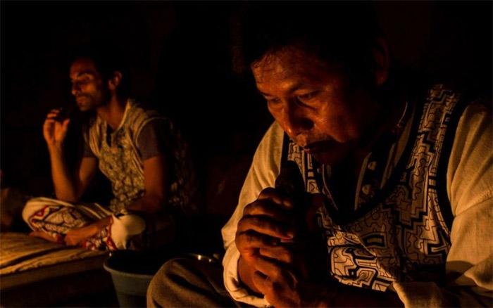 Ceremonia con la Ayahuasca