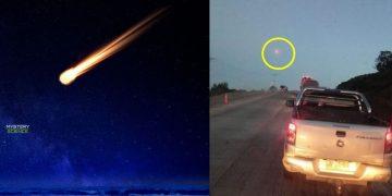 Geólogos chilenos dicen que los bólidos vistos en Chile la semana pasada «No eran meteoritos»