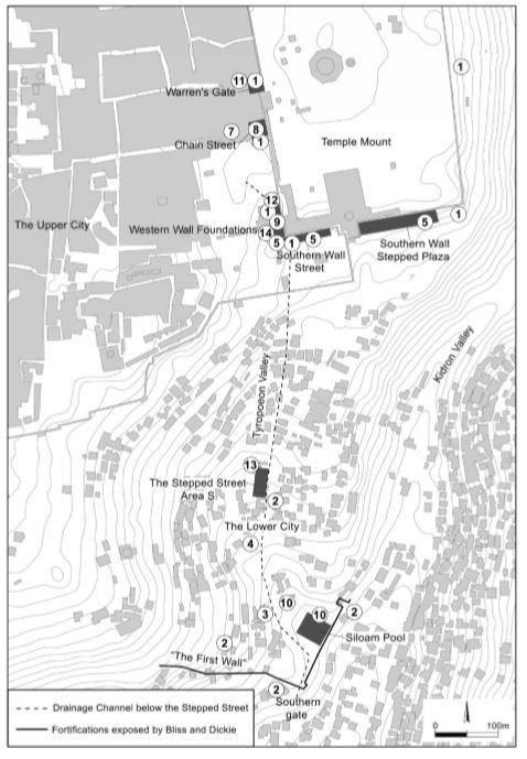 Mapa calle hecha por Poncio Pilatos