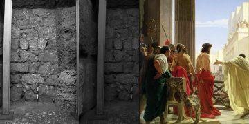 Hallan en Jerusalén una calle construida por Poncio Pilato hace 2.000 años