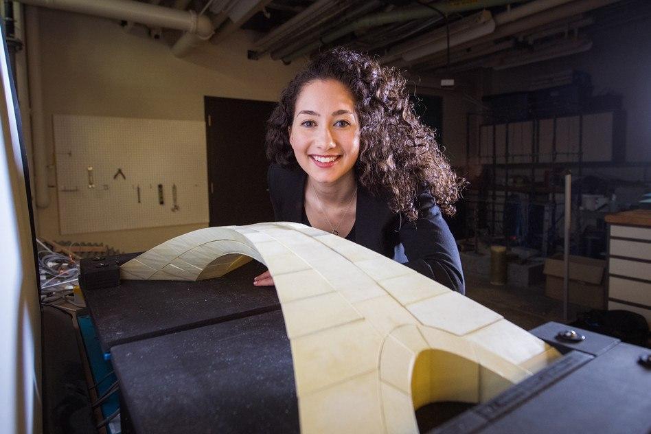 Modelo a escala del puente de Leonardo da Vinci